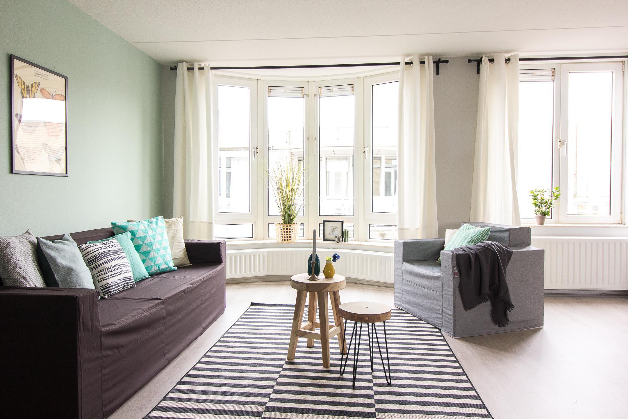 Casa co een leeg appartement in zoetermeer inrichten voor de verhuur - Deco van het appartement ...